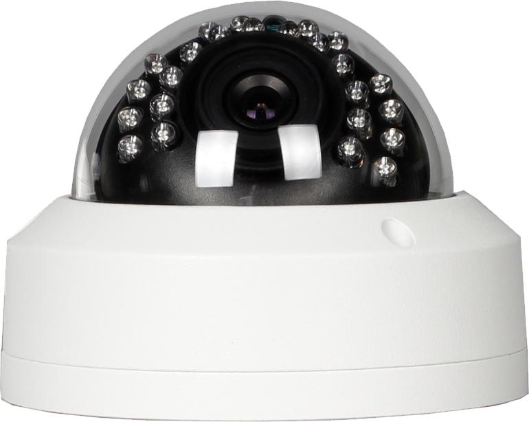 IP-Kamera 5MP Überwachungskamera Dome Super HD POE 3.6 mm ONVIF 30m Nachtsicht